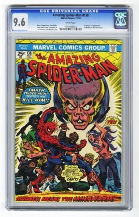 Amazing Spider-Man #138 CGC 9.6.