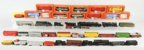 Lot Of HO Train Engines & Cars.