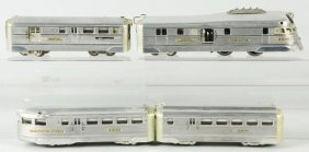 American Flyer Burlington Zephyr Train Set.