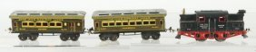 Ives O-Gauge No. 3253 Passenger Train Set.
