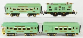 Ives Standard Gauge No. 3236 Passenger Train Set.