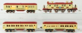 Williams Contemporary Ives Passenger Train Set.