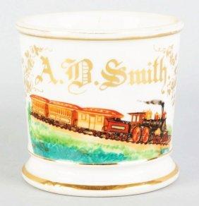 Locomotive Shaving Mug.
