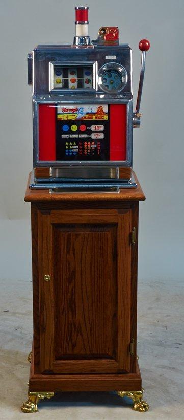 Harvey's wagon wheel slot machine