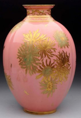 English Royal Crown Derby Vase.
