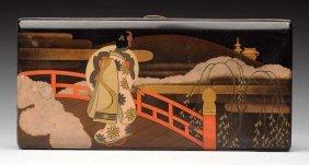 Japanese Silver Cigarette Case.