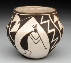 Native American Indian Pottery Vase.