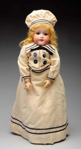 German Open Mouth Armand Marseille Doll.