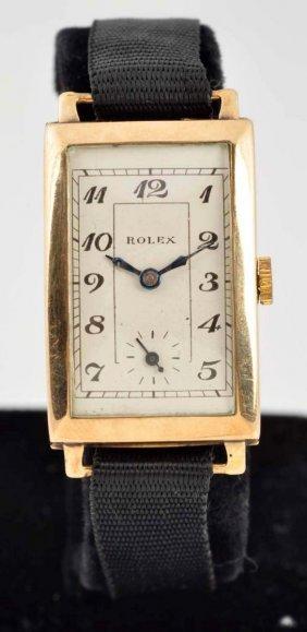 Rolex 9k Gold Watch.