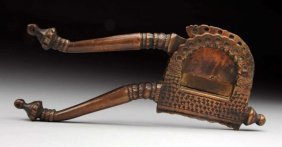 Early Bronze Nut Or Tobacco Cutter.