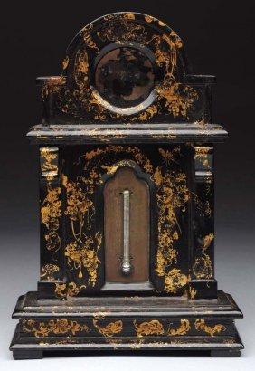19th Century French Paper Mache Watch Holder.