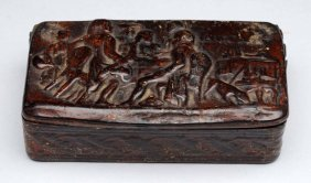 Late 18th Century Wooden Box.