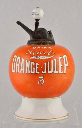 Howel's Orange Julep Dispenser.