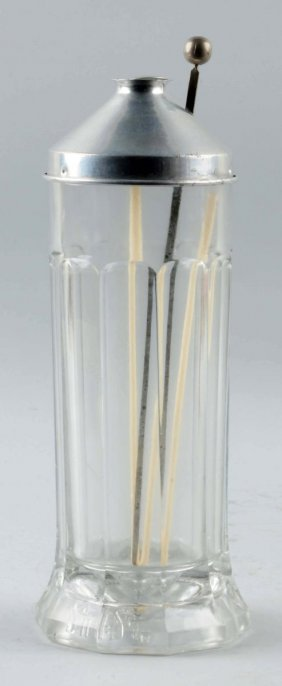 Sani-straw Glass Straw Holder.