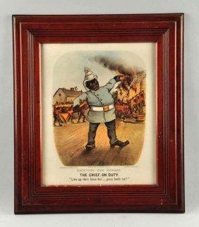 Darktown Fire Brigade Fire Poster.