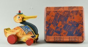 Fisher Price Paper On Wood No. 120 Gabby Goose.