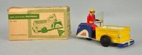 Ny-lint Tin Litho Wind Up Motorcycle Toy.