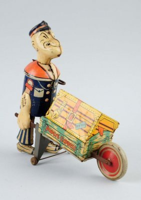 Marx Tin Litho Wind-up Whoopie Car.