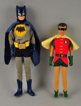 1960's Batman And Robin Customized Figures