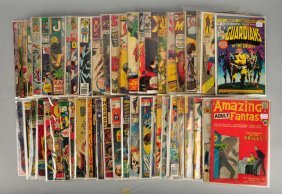 Lot Of Over 50 Various Comic Books.