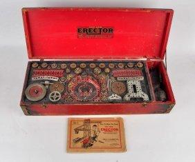 Gilbert 1929 No. 9 Erector Mechanical Wonders Set.