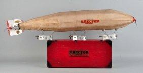 A.c. Gilbert 1929 Erector Zeppelin No. 8 Set.
