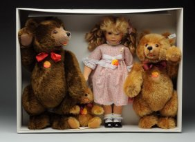 Steiff's Goldilocks & The Three Bears Set.