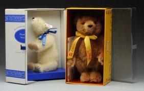 Two Steiff Fao Schwarz Exclusive Edition Bears.