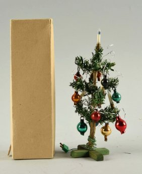 Electrified Christmas Tree In Original Box.