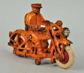 Cast Iron Motorcycle.