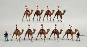 Britains Egyptian Camel Corps.