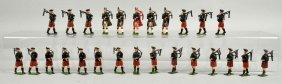 Britains Marching Pipers.