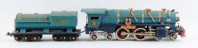 Lot Of 2: Lionel No. 400e Blue Comet & Tender.