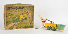 Lionel Clockwork Peter Rabbit Chick-mobile Handcar