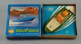 Cox Sea Bee Gas Powered Boat In Box.