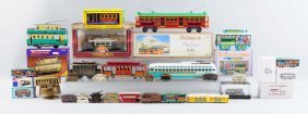 Lot Of Assorted Collectable Trolley Related Items.
