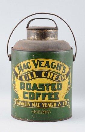 Mac Veagh's Roasted Coffee Tin.