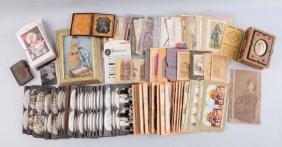 Large Lot Of Postcards & Photos.