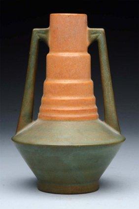 Roseville Futura Telescope Vase.