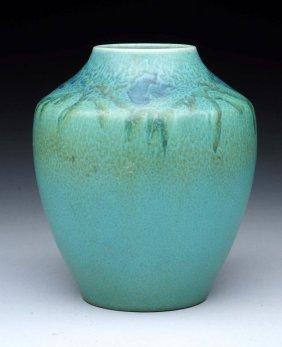 Rookwood Vellum Bulbous Vase.