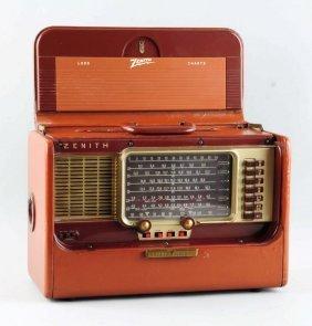 Vintage Zenith Trans - Oceanic Radio.