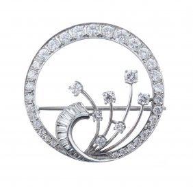 A Diamond Circle Pin.