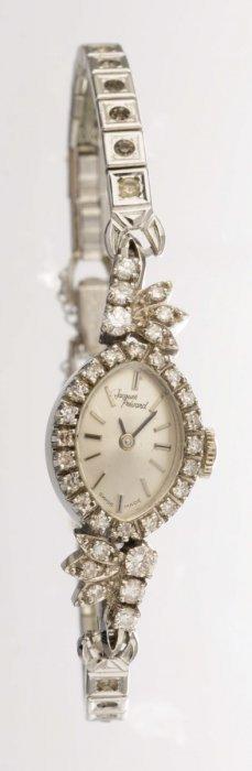 A Lady's Diamond Dress Watch, Jacques Prevard.