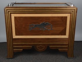 5¢ Paces Races Horse Race Console Machine
