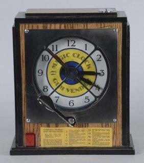 1¢ Magic Clock Gum Vendor