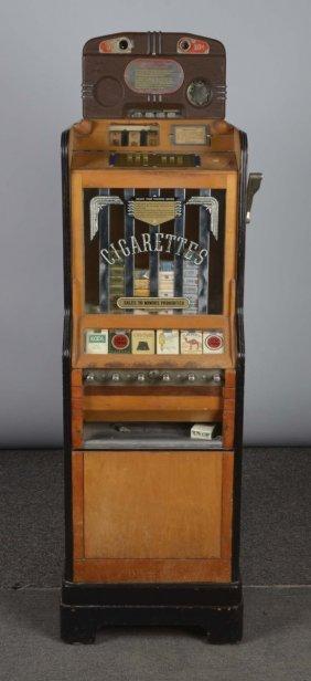 5¢ & 10¢ Jennings Ciga-rola Cigarette Vender
