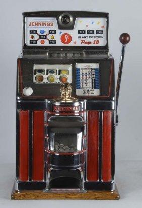 5¢ Jennings Governor Slot Machine