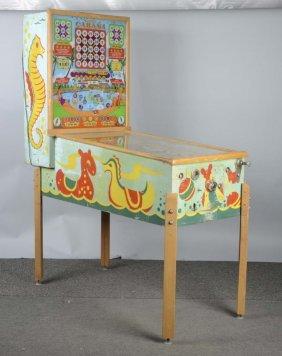 5¢ Cabana Bingo Pinball Machine