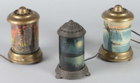 Lot Of 3: Motion Lamps