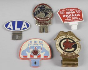 Lot Of 5: License Plate Topper Attachments